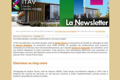 Lettre d'information de l'ITAV