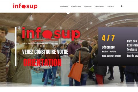 Salon INFOSUP : Plus de 3000 visiteurs quotidiens